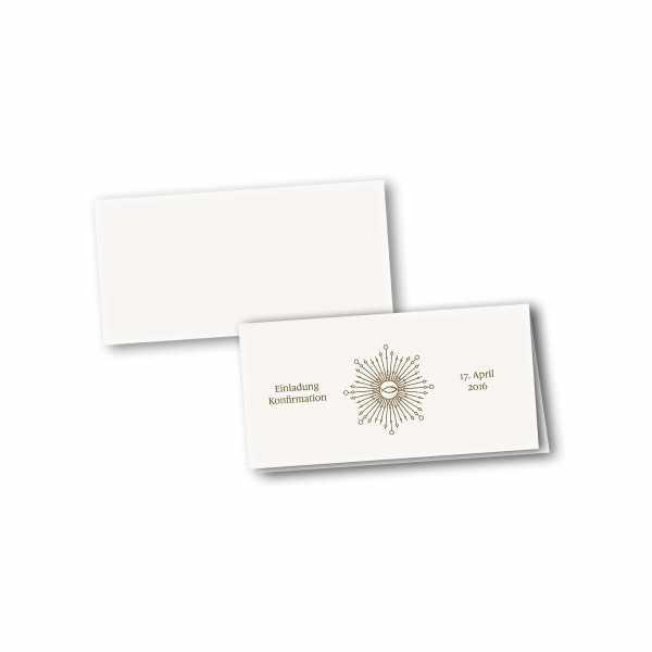 Klappkarte - Kartendesign Ben