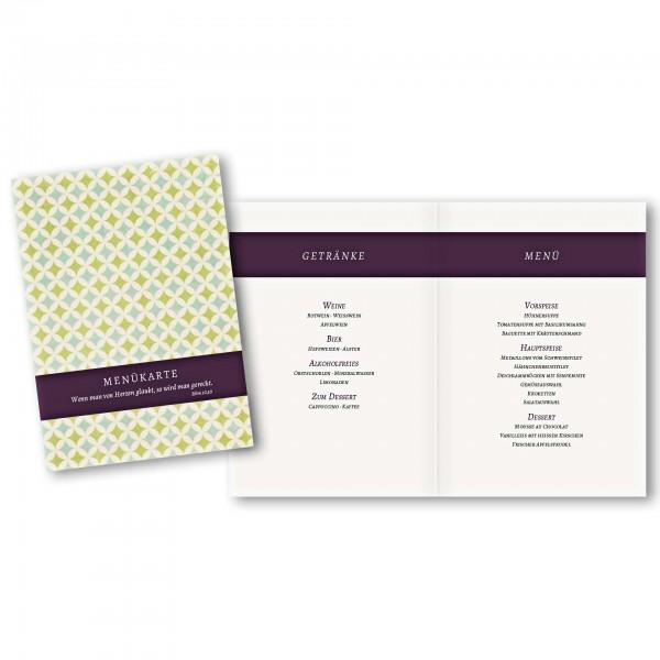 Menükarte DIN-A5 - Kartendesign Laura