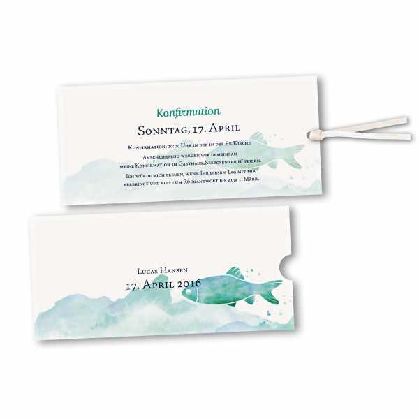 Schuberkarte - Kartendesign Tim