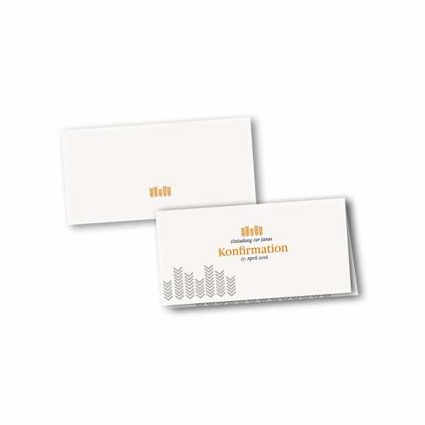 Klappkarte - Kartendesign Fynn