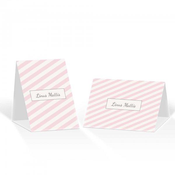 Platzkarte Aufsteller A6 – Kartendesign süße Liebe