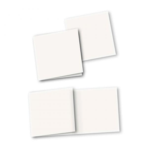 Danksagungskarte – 6-Seiter quadratisch Kartendesign Individual