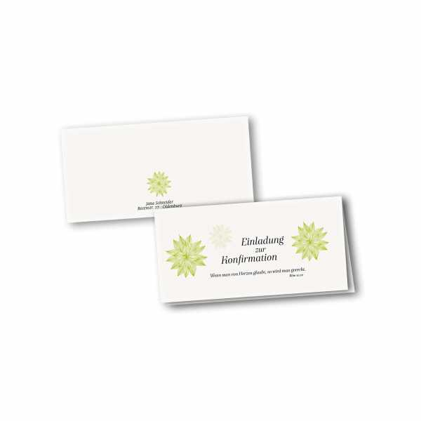 Klappkarte - Kartendesign Luisa