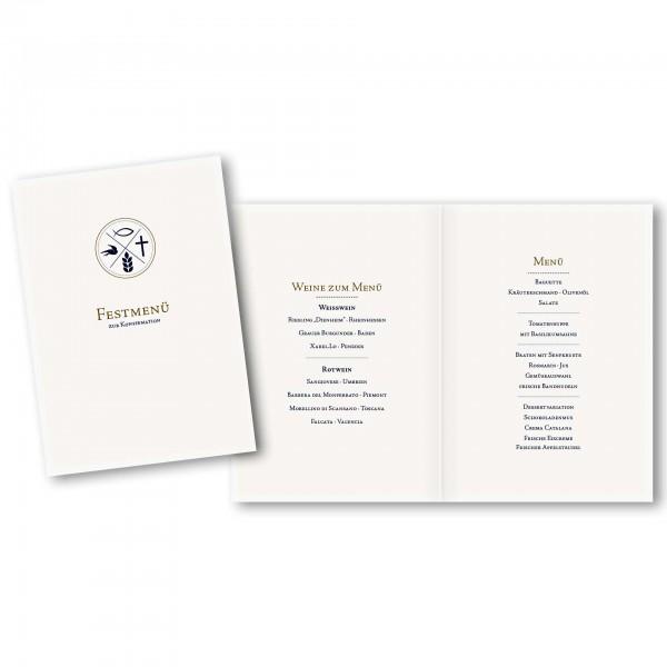 Menükarte DIN-A5 - Kartendesign Jan
