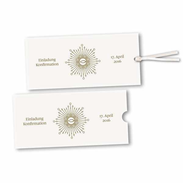 Schuberkarte - Kartendesign Ben