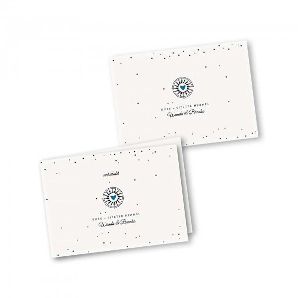 Danksagungskarte – 4-Seiter DIN-A5 Querformat Kartendesign Gefühlszauber