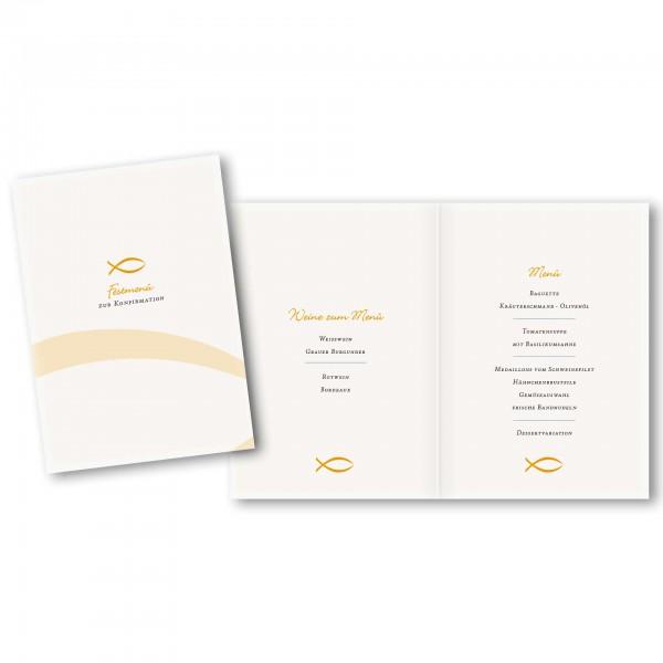 Menükarte DIN-A5 - Kartendesign Anna