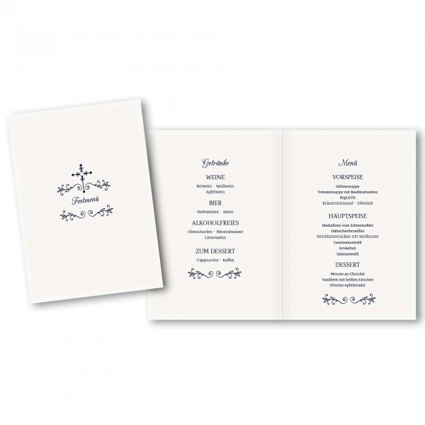 Menükarte DIN-A5 - Kartendesign Luca