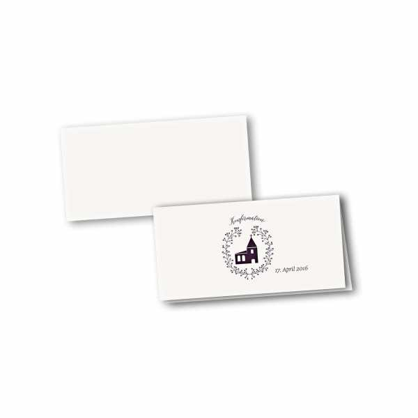 Klappkarte - Kartendesign Alina