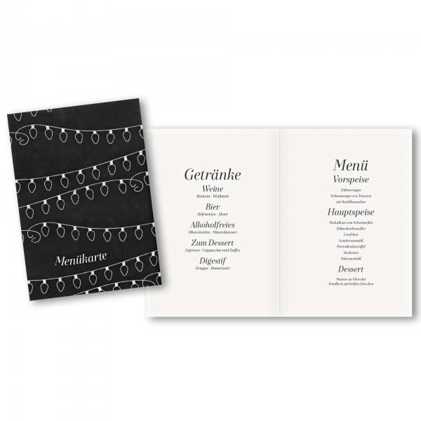 Menükarte DIN-A5 - Kartendesign Fabian