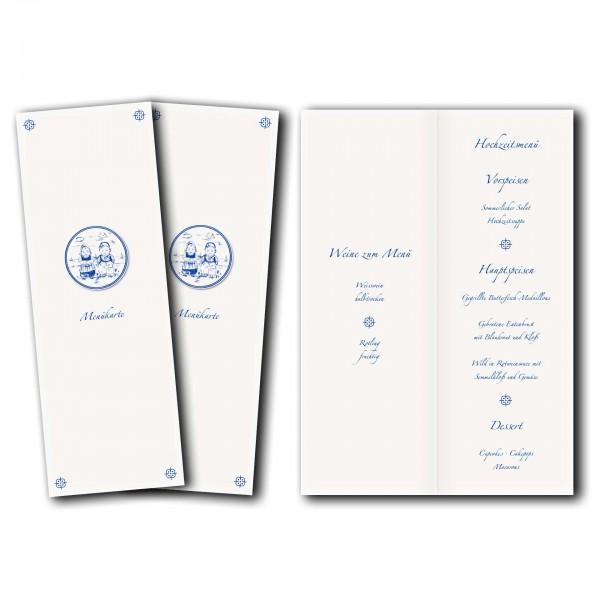 Menükarte – Kartendesign Tosammendoon