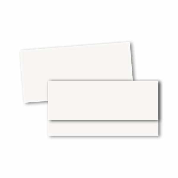 Einladungskarte – asymmetrische Klappkarte DIN-lang im Kartendesign Individual