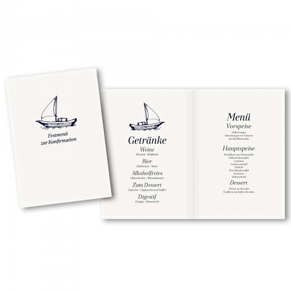 Menükarte DIN-A5 - Kartendesign Philipp