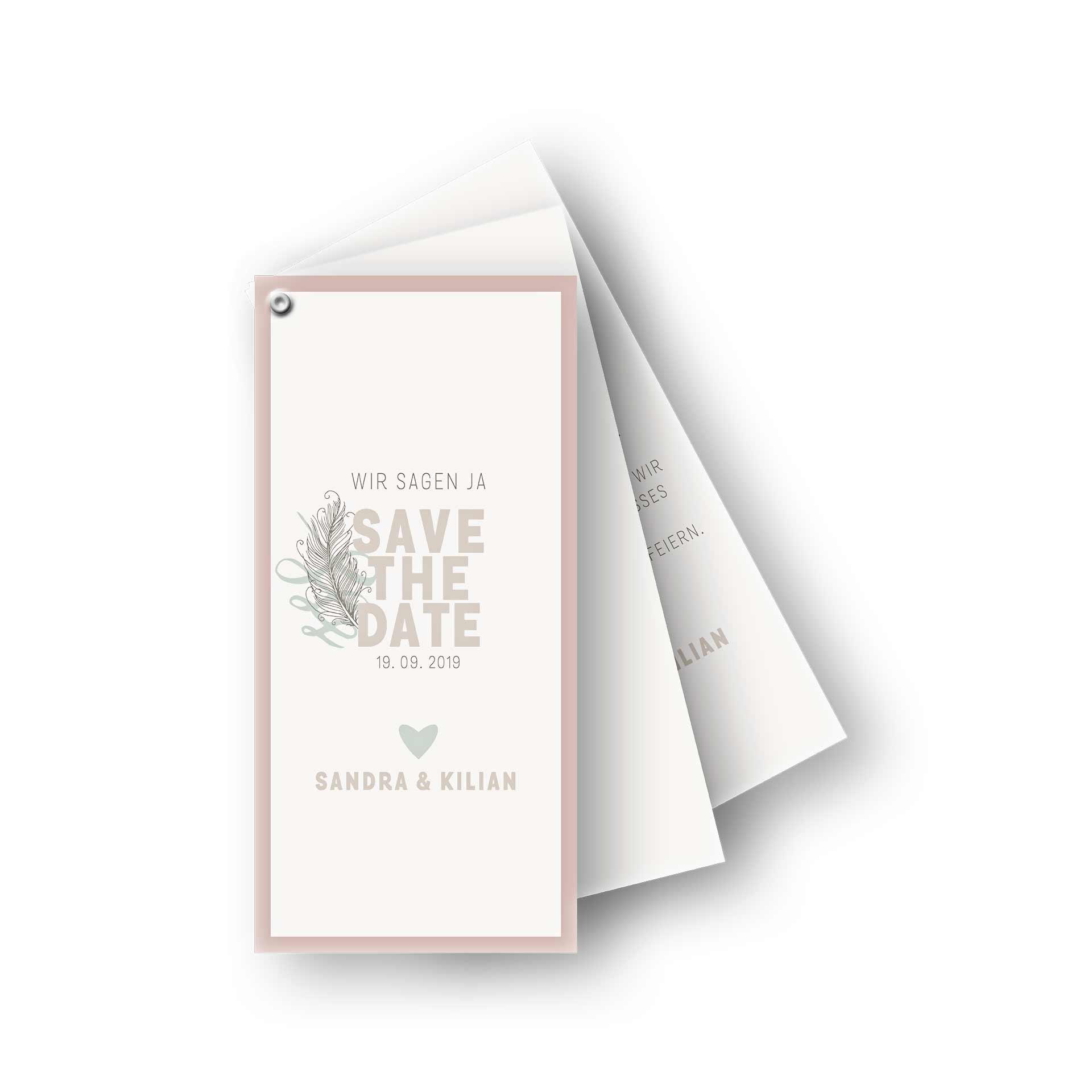 Kartenfacher Besondere Einladungskarten Zum Auffachern Fur Ihre