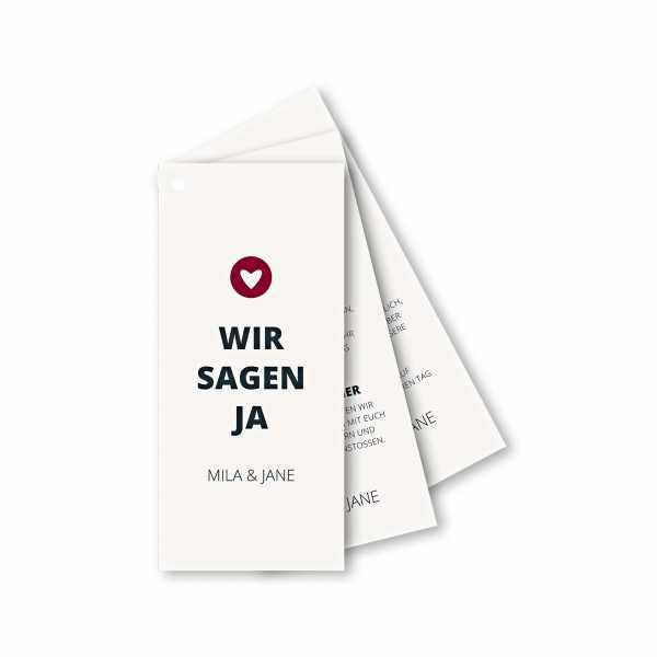 Einladungskarte Facherkarte Din Lang Im Design Moderne