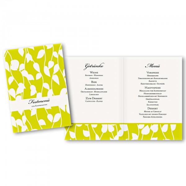 Menükarte DIN-A5 - Kartendesign Julia