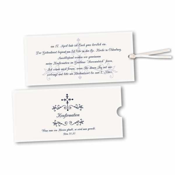 Schuberkarte - Kartendesign Luca