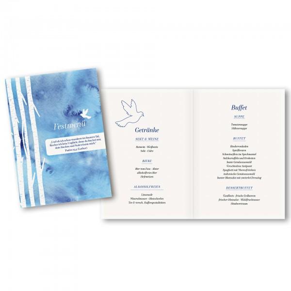 Menükarte DIN-A5 - Kartendesign Lasse