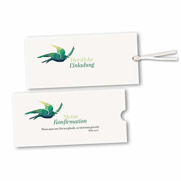 Schuberkarte - Kartendesign Julian