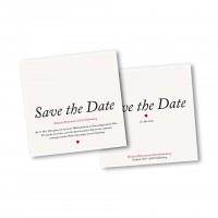 Einladunkskarte Klappkarte 4 Seiter quadratisch im Design Kleines