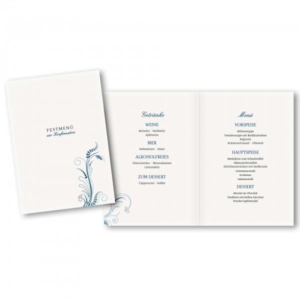 Menükarte DIN-A5 - Kartendesign Tim