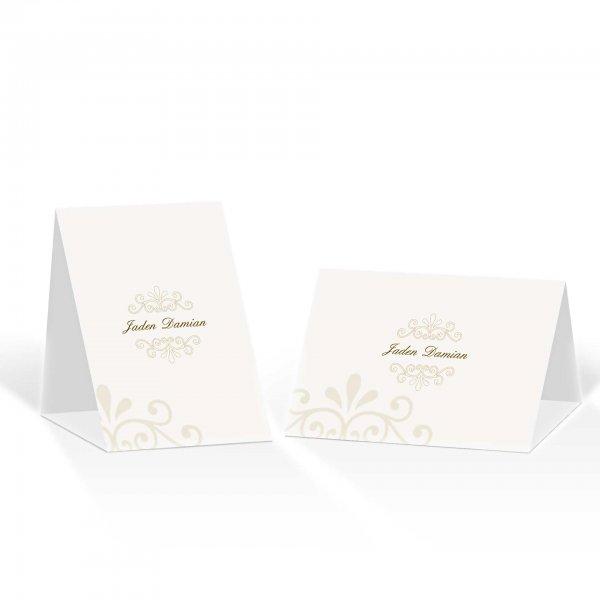 Platzkarte Aufsteller A6 – Kartendesign Princess