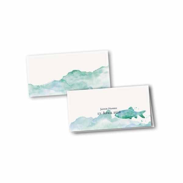 Klappkarte - Kartendesign Lucas