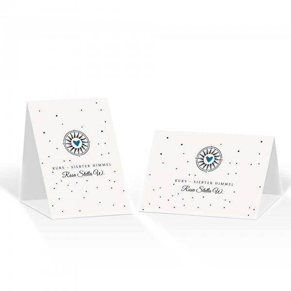 Platzkarte Aufsteller A6 – Kartendesign Gefühlszauber