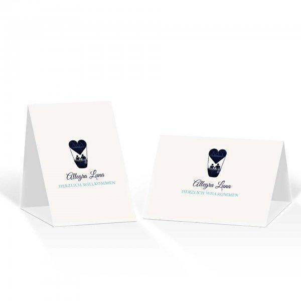 Platzkarte Aufsteller A6 – Kartendesign Liebesbrief Version 3