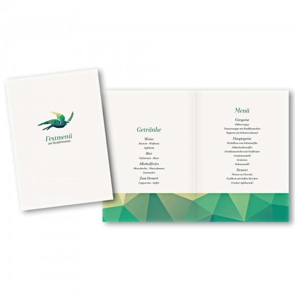 Menükarte DIN-A5 - Kartendesign Julian