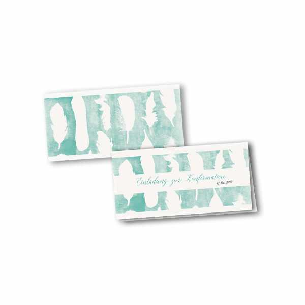 Klappkarte - Kartendesign Sofie