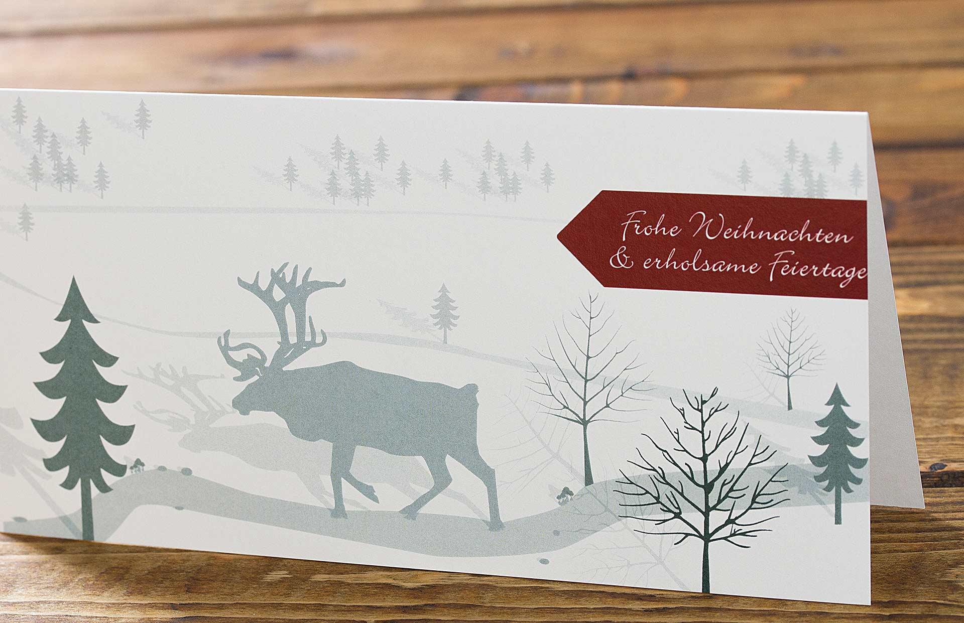 Gesch ftliche weihnachtskarten 2017 chilipfefferdesign for Moderne weihnachtskarten