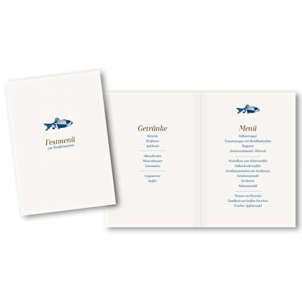 Menükarte DIN-A5 - Kartendesign Tom