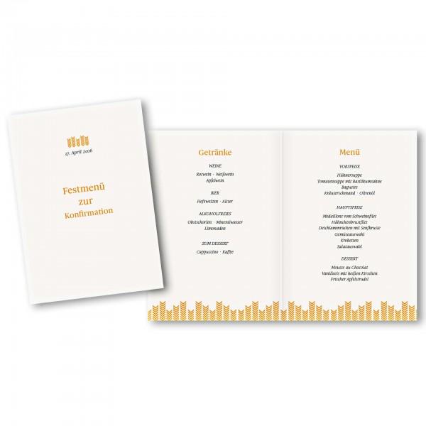 Menükarte DIN-A5 - Kartendesign Fynn