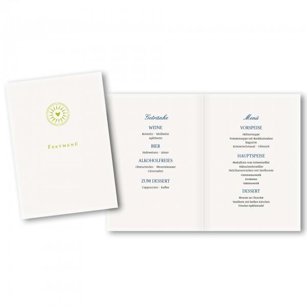 Menükarte DIN-A5 - Kartendesign Leonie